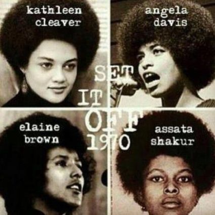 Outstanding women leaders of the Black Panther era