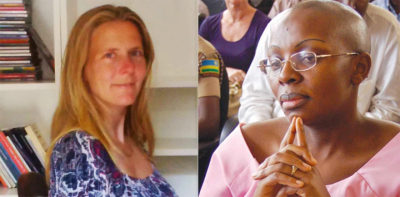 Dutch lawyer Caroline Buisman and Rwandan political prisoner Victoire Ingabire