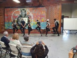 Al Juthoor Debke dancers close out the day's program. – Photo: Greg Thomas