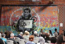 Kilaiki Baruti of George Jackson University speaks during the roundtable discussion. – Photo: Omar Ali