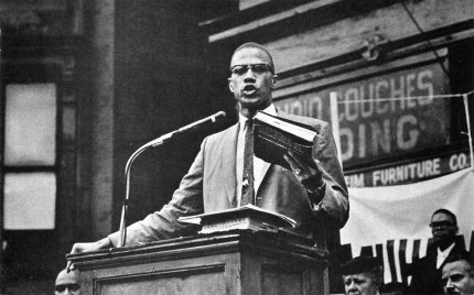 """This is Malcolm delivering """"The Ballot or the Bullet"""" for the second time, at King Solomon Baptist Church in Detroit on April 12, 1964, nine days after the Cleveland speech. He had left the Nation of Islam only a month earlier and embarked the following day on his Hajj. The speech is considered the fullest declaration of his Black nationalist philosophy."""