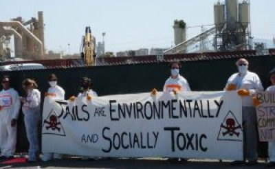 Toxic prison protest 'Jails are environmentally & socially toxic'