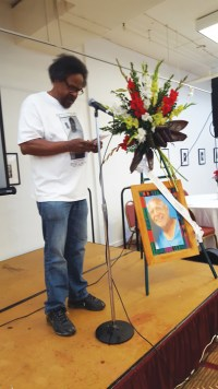 All of Us or None member and former Black Panther Arthur League was the co-host of the Yogi Memorial held in San Francisco on April 23 at the African American Art and Culture Complex.