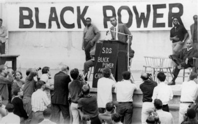 On Oct. 29, 1966, Stokely Carmichael, later known as Kwame Ture, spoke to 10,000 students during the Students for a Democratic Society (SDS) Conference on Black Power at the University of California at Berkeley.