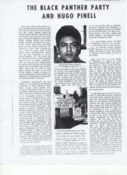 """""""The Black Panther Party and Hugo Pinell,"""" a story published by The Black Panther newspaper in Nov. 29, 1971"""