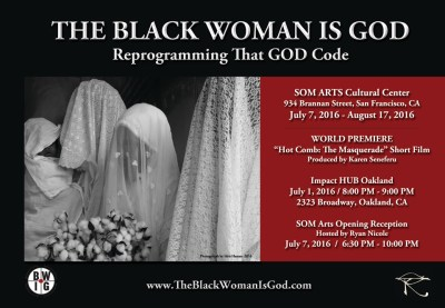 'Black Woman Is God' poster 2016