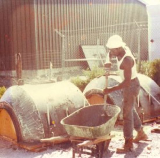 In 1981, Tony and several of his siblings traveled to North Dakota when their dad won a contract to build pipe weights for the Northern Border pipeline. The Ratcliffs were the first Blacks to break into pipeline construction, previously all white until they worked on the Trans-Alaska Pipeline.
