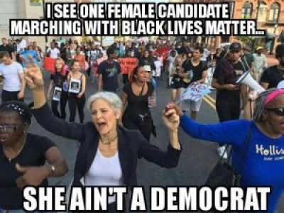 """On Democracy Now! July 18, Cornel West explains """"why I endorse the Green Party's Jill Stein over 'neoliberal disaster' Hillary Clinton."""""""