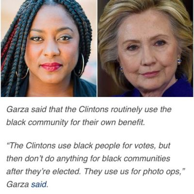 """That's the Bay Area's own Alicia Garza, who coined the term Black Lives Matter and co-founded the Movement for Black Lives. They recently issued """"A Vision for Black Lives,"""" a platform with planks on the issues the Black community cares most about and suggestions on how to demand and win support from candidates for each those issues."""