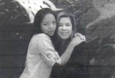 Natalie DeMola w family friend