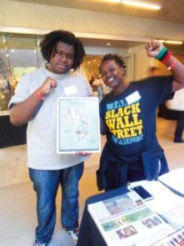 Young people attended the celebration all four days in abundance – the workshops, exhibits and screenings as well as the main events. This is Wade and Sho King from Southern California. – Photo: Jahahara Alkebulan-Maat