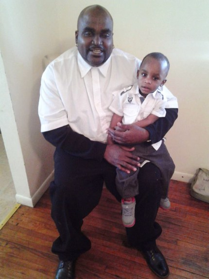 Terence Crutcher holds his little boy. The 40-year-old father of four is described by those who knew him as a devoted father, a college student and a great gospel singer.