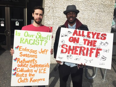 Community members rally to demand audit of Alameda County Sheriff Gregory Ahern