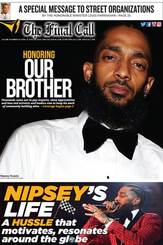 Basic -- Nipsey Hu$$le, a rose from concrete   San Francisco Bay View
