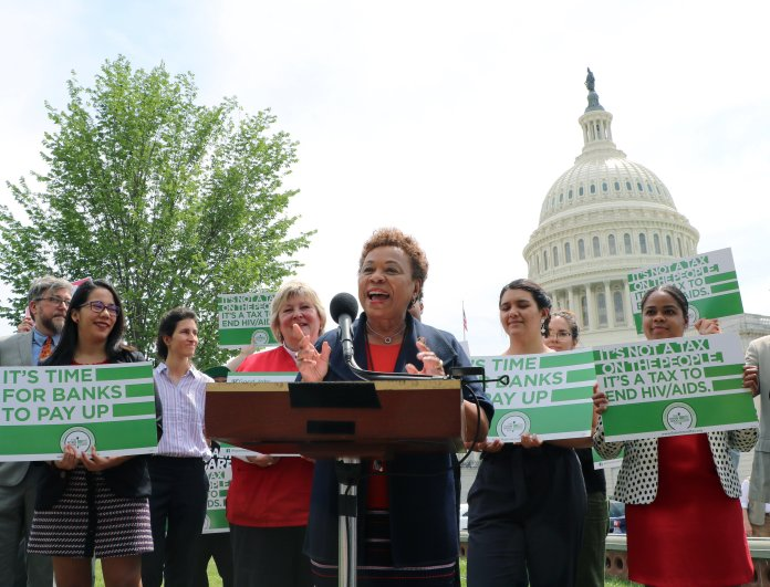 Barbara-Lee-introduces-Inclusive-Prosperity-Act-in-DC-052219-by-Twitter, Congresswoman Barbara Lee and Sen. Bernie Sanders introduce Inclusive Prosperity Act to curb Wall Street greed, National News & Views