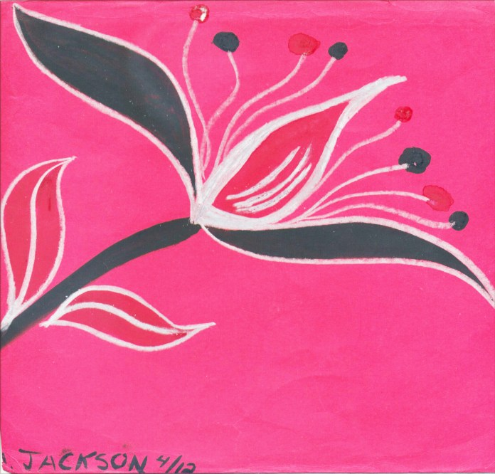 Blooming-art-by-Amber-Jackson, How can I satisfy the Parole Board I'm no longer a threat to society?, Behind Enemy Lines