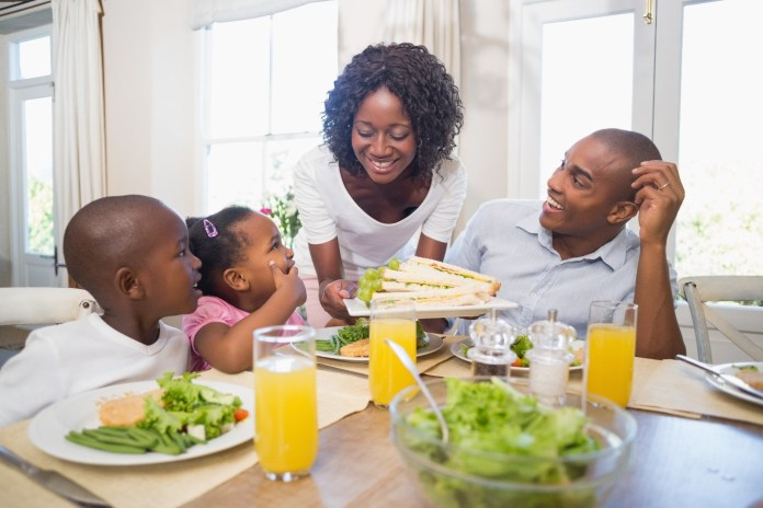 Black-family-dinner, Reviving the family dinner, Culture Currents