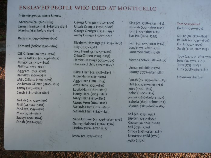 Enslaved-People-Who-Died-at-Montcello'-marker-lying-unmarked-between-parking-lots-at-Monticello-0819-by-Jahahara, When Our Ancestors Speak … LISTEN!, Culture Currents