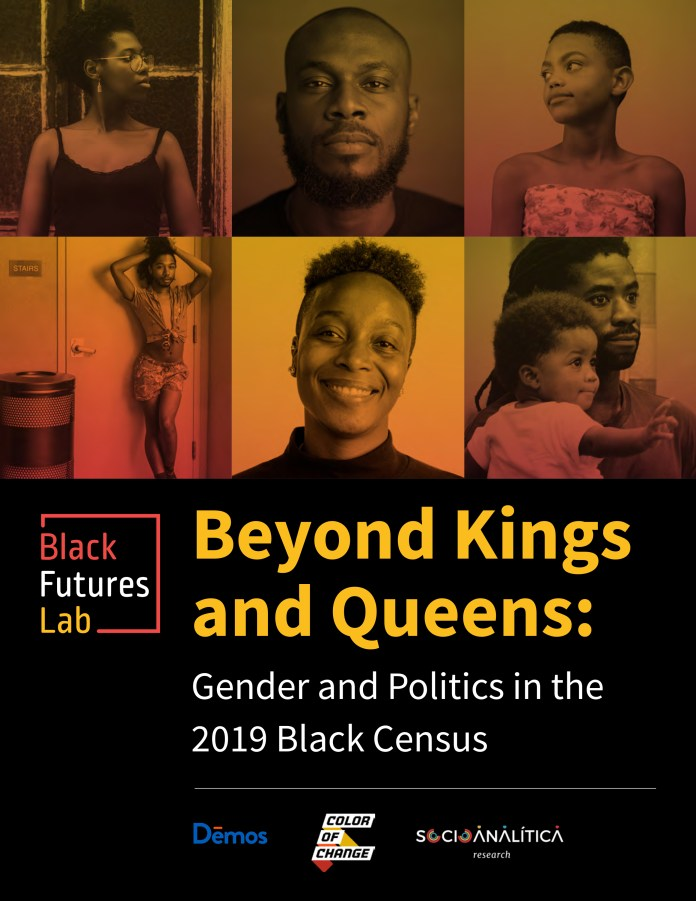 Black-Futures-Lab-Beyond-Kings-and-Queens-Gender-and-Politics-graphic, 30,000 respondents offer a complex picture of race and gender with serious implications for the 2020 election, Featured National News & Views