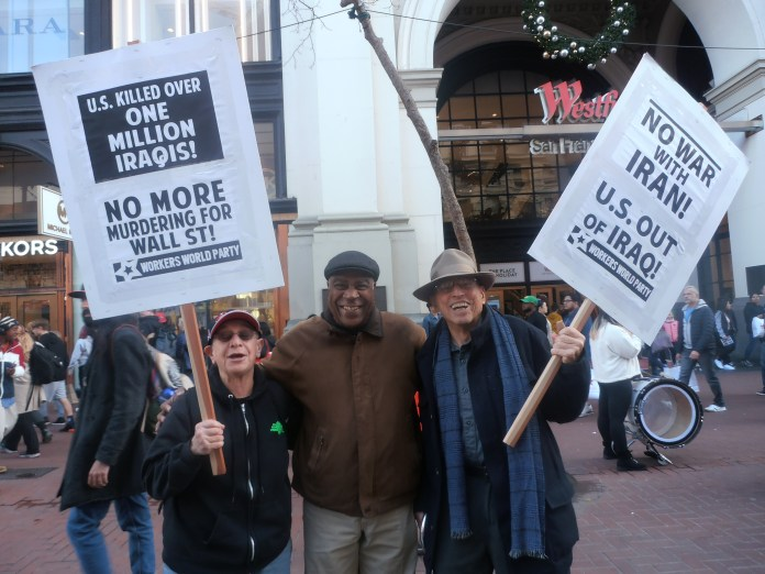 March-against-war-in-Iran-Judy-Greenspan-Pierre-Labossiere-Dave-Welsh-0120-by-Jahahara, New season, building movements, more victories on the way!, Culture Currents
