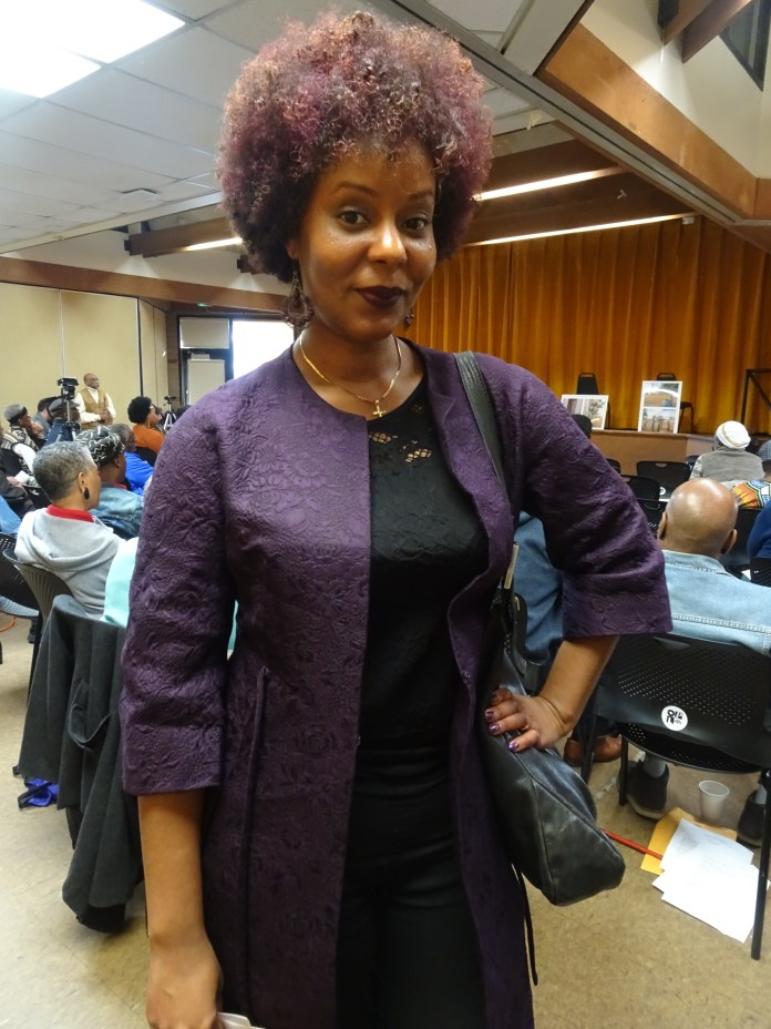 30th-Anniversary-Af-Am-Poets-Nicia-DeLoverly-poet-W.-Oakland-Library-020120-by-Wanda-8, The 30th annual Celebration of African American Poets and Their Poetry: It's nothing short of amazing … this grace, Culture Currents