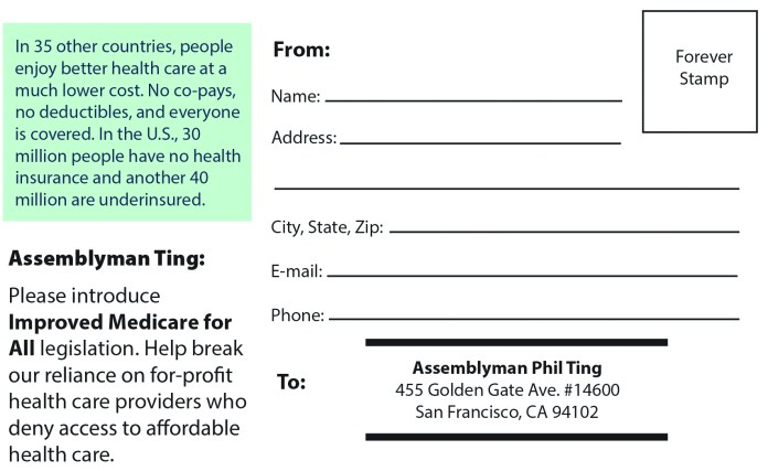 Green-Party-Health-card-2, Health care costs, Local News & Views