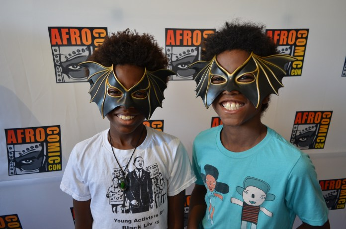 Two-masked-Black-lil-boys-cosplay-1, AfroComicCon does the Black comic book convention Bay Area style, Culture Currents