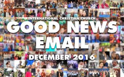 Good News Email – December 2016