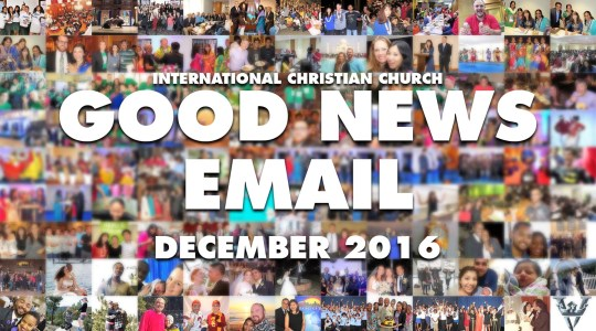 Good News Email - December 2016