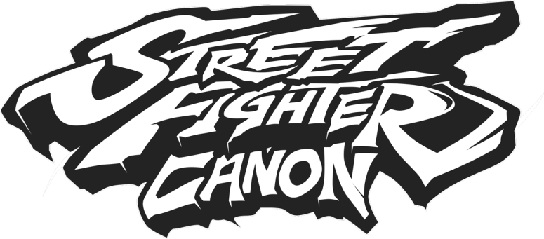 Street Fighter Canon Logo