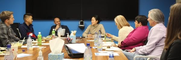 Lunch and Learn with Jane Kim