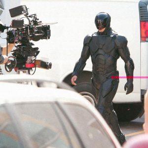 Robocop suit first look.