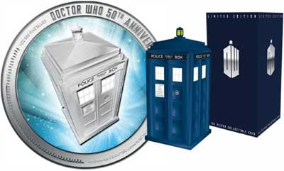 Doctor Who? It's minted!