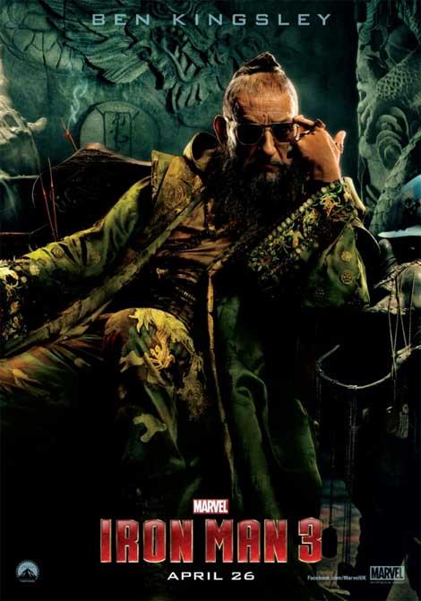 Iron Man 3... meet the Mandarin, evil rock god?