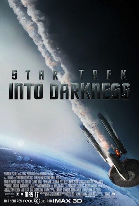 Star Trek Into Darkness... Enterprise down.