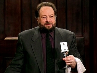 Deceptive Practice: The Mysteries And Mentors Of Ricky Jay (a film review by Mark R. Leeper).