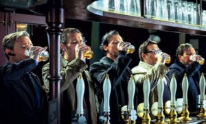 The World's End... Bodysnatchers in a British pub (trailer).