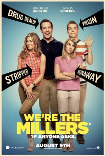 We're the Millers, trailer (going weeding).