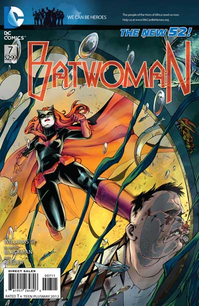 Batwoman... she can be gay, just not happy, says DC.
