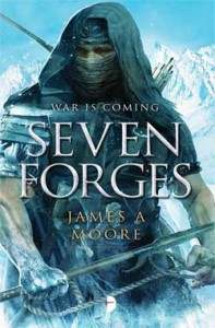 Seven Forges by James A. Moore (book review).