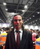 Two-Face at Comic Con