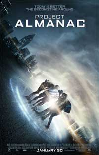 Project Almanac first trailer.
