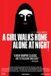 A Girl Walks Home Alone At Night (2014) a film review by Mark R. Leeper.