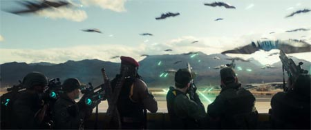 Independence Day: Resurgence (first amazing trailer).