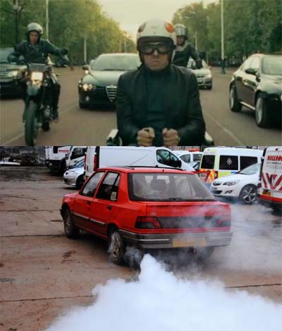 Motorist with Bond-like gadget car jailed for activating smoke screen.