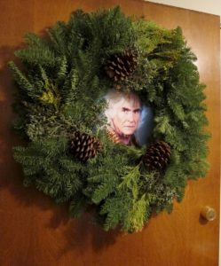 Here Khan's Christmas . . . the Wreath of Khan.