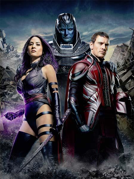 X-Men: Apocalypse (first trailer).