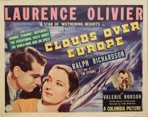 Clouds Over Europe (1939) (a film retrospective/review by Mark R. Leeper).
