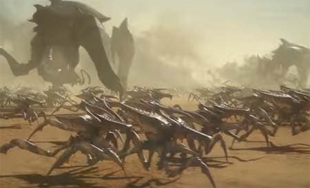 Starship Troopers: Traitor of Mars (first trailer).