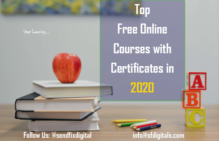 Top Free Online Courses with Certificates